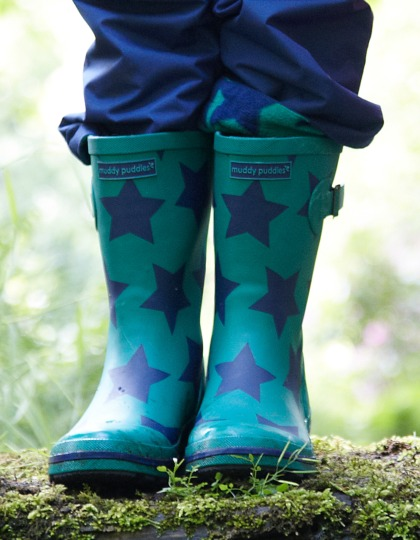 Wellies_Green Star_WLI
